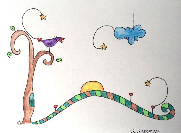 ilustración quizá llegue la primavera